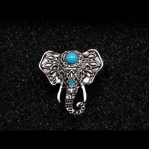 New Big  Elephant Knuckle Rings for Women